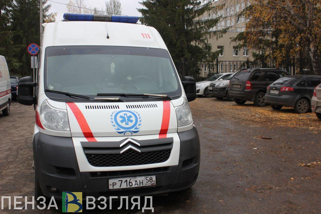 В Пензе сбитая на улице Минской девушка госпитализирована
