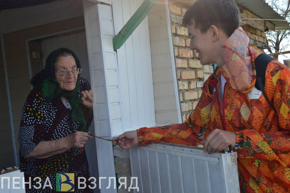 В преддверии Дня Победы пензенцам будут раздавать георгиевские ленточки