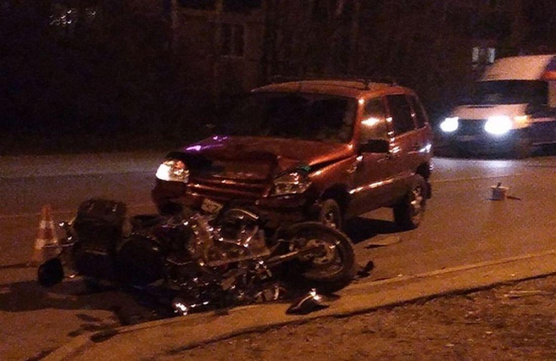 Стали известны участники аварии с мотоциклом на улице Рахманинова в Пензе