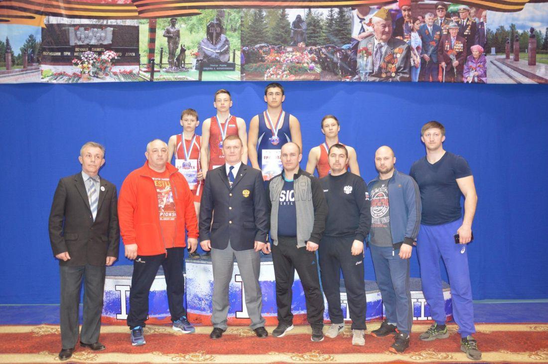 Пензенские спортсмены отправятся на первенство России по греко-римской борьбе