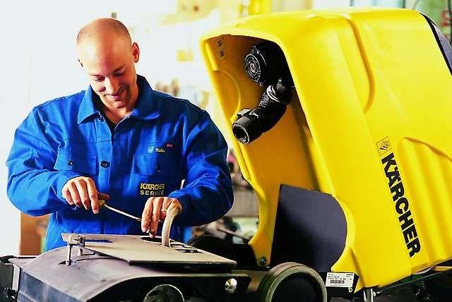 Обслуживание и ремонт техники для уборки